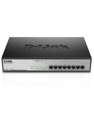 D-Link 8-poorts (8x PoE) Gigabit Desktop Switch