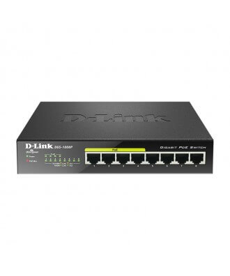 D-Link 8-poorts (4x PoE) Gigabit Desktop Switch