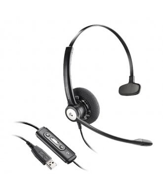Plantronics HW111N Entera MONO USB bedrade headset