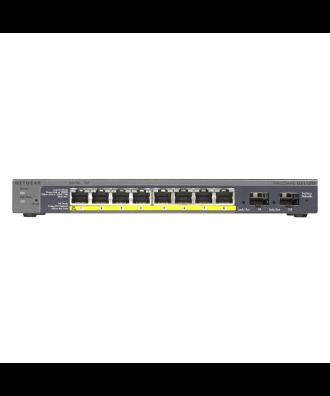 Netgear 8-poorts (8x PoE) Gigabit Desktop Switch