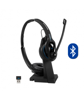 Sennheiser MB Pro 2 UC STEREO Bluetooth draadloze headset (incl. dongle)