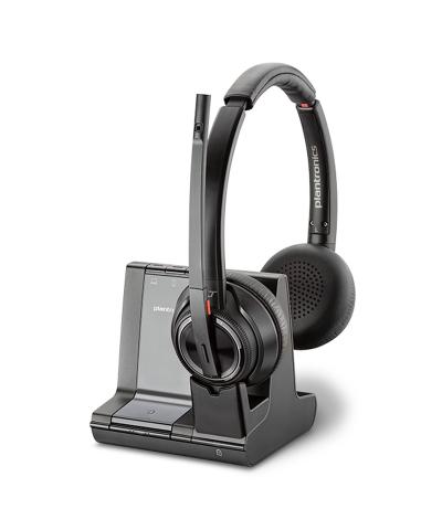 Plantronics Savi 8220 STEREO UC DECT draadloze headset