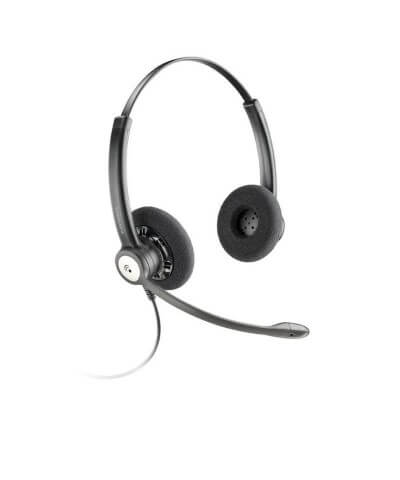 Plantronics HW121N Entera STEREO QuickDisconnect bedrade headset