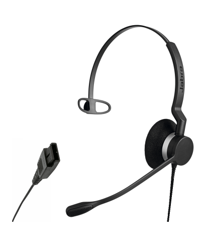 Jabra BIZ 2300 MONO QuickDisconnect bedrade headset