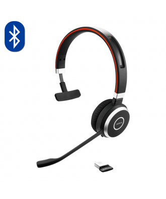 Jabra Evolve 65 MS MONO Bluetooth draadloze headset (excl. stand)