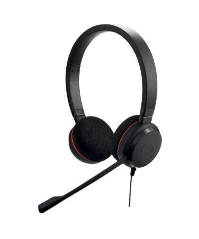 Jabra Evolve 20 MS STEREO USB-A bedrade headset
