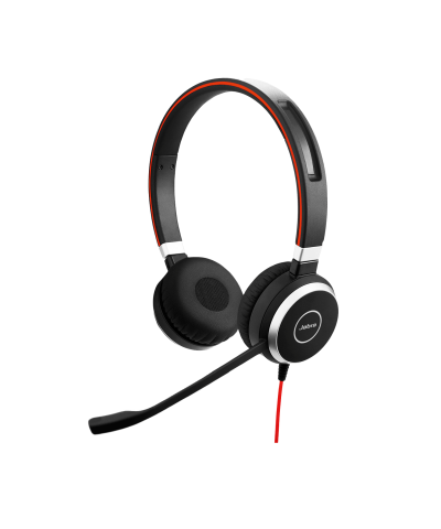Jabra Evolve 40 MS STEREO USB-A bedrade headset