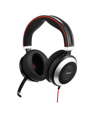 Jabra Evolve 80 UC STEREO USB-C bedrade headset