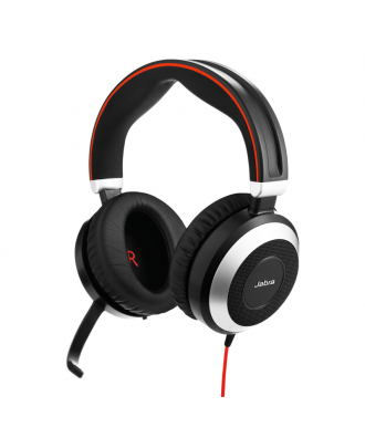 Jabra Evolve 80 MS STEREO USB-A bedrade headset