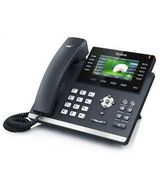 Yealink SIP-T46G 6-lijns color IP Phone excl. voedingsadapter