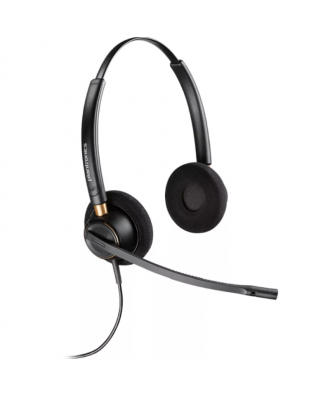 Plantronics HW520 EncorePro STEREO QuickDisconnect bedrade headset