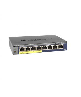 Netgear 8-poorts (4x PoE) 10/100/1000 Desktop Switch