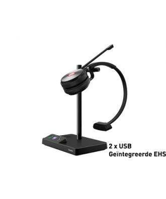 Yealink WH62 MONO DECT draadloze headset (MS Teams)