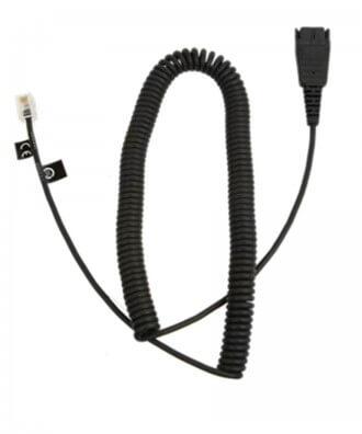 Plantronics QuickDisconnect (QD) 2,5mm jack plug verloopkabel