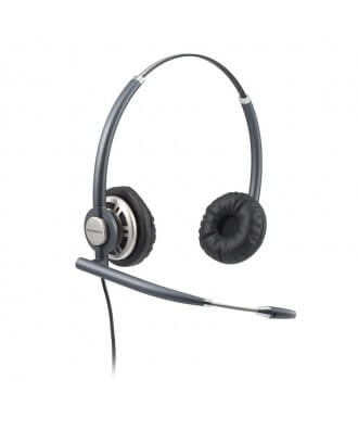 Plantronics EncorePro wired Binaural headset met U10P-S kabel QD