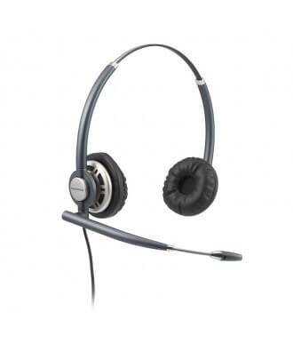 Plantronics EncorePro wired Binaural headset met U10P-S kabel QD
