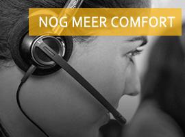 comfortabele headsets voor VoIP telefoons